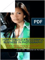 How to Build a Successful Business in Photography - Elvie Lins - Minister of Pictur