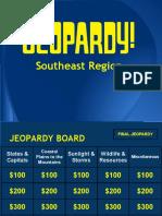 southeast region jeopardy