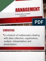Chapter IV - Data Management