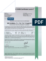 07 0410 Certificate Areva P442