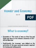 Gender and Economy
