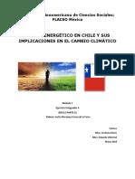 Sector Enérgetico y Cambio Climatico en Chile