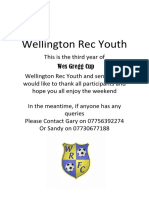 Wellington Rec Youth