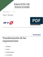 Pedro Navarrete Transformacion Organizaciones