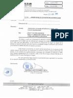 Oficio N° 050-2019