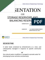 Storage Reservior and Balancing Reservoir