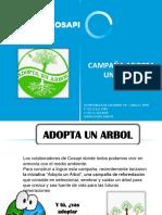 Campaña Adopta Un Arbol