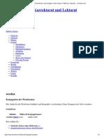 Werden _ Schreibweise Und Konjugation v...Präteritum, Imperativ – Korrekturen.de