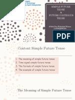 Simple Future Tense Adn Future Continous Tense