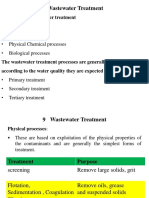 Wastewater Treatment 1