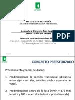 12. Presentacion Curso Preesforzados - Diseño del tablero.pdf