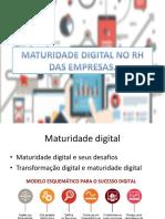 Maturidade Digital No Rh Das Empresas