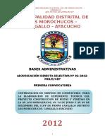Base Consultoria Morochucos Pistas y Veredas