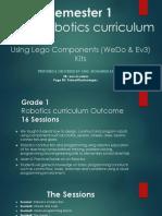 Semester 1 - Robotics Curriculum 17-8-2018