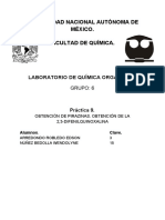 Práctica 9. Orgánica III