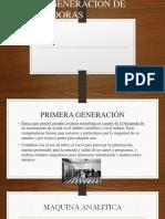 Presentacion ! generacion