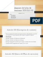 Informe de Articulo 151- 181