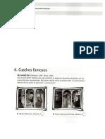 Cuadros famosos  (Actividades de comprensión lectora)