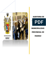 Auditoria de Cumplimiento Muni Prov. Huaraz