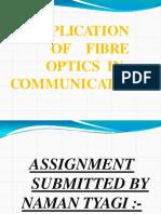 Optics communication