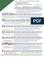 Portuguese Br Version - Getting Started Score