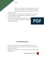 8vo Informe Resistividad y Ley de Ohm