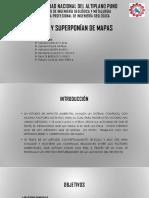 Redes y Superposicion de Mapas
