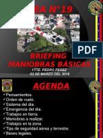 5. Briefing Referencial Maniobras Basicas