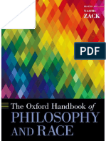 (Oxford handbooks online) Naomi Zack (ed.) - The Oxford handbook of philosophy and race-Oxford University Press (2017).pdf