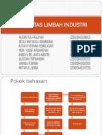(Kel 4) Makalah Limbah Industri. Farmasi f