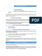 Derecho Ambiental 1 Primera Prueba UGM