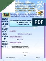 Caso Clinico proceso de atención en enfermeri