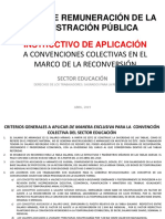 EDUCACIÓN - INSTRUCTIVO EXCLUSIVO CONVENCION COLECTIVA - ABRIL 2019