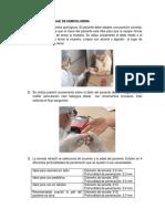 Procedimiento Del Dosaje de Hemoglobina