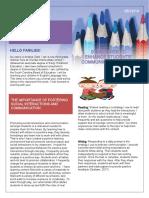 edu-480 week 4 communication skills newsletter