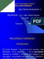 RECURSOS HUMANOS - 2008