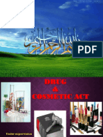 Drugs and Cosmetics Act 1940, Rule 1945 by Dr. Izhar Ahmad