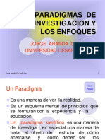 losparadigmas de  la  investigacion  postgrado