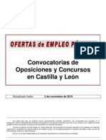 Boletín Oposiciones CyL 101102