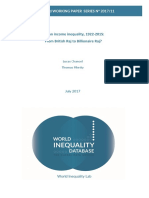 Indian income inequality - 1922-2015 From British Raj to Billionaire Raj - Lucas Chancel & Thomas Piketty.pdf