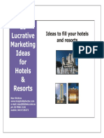 25_LucrativeMarketingIdeas_Hotels140923