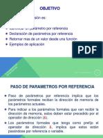 Funciones de Programador Parametros x Referencia Rev