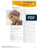 Design R0263 Beanie en point structuré