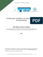 Evaluar para contribuir a la autorregulación del aprendizaje.pdf