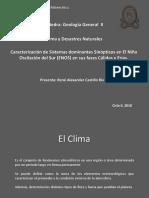 El Clima y Desastres