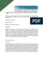 prueba electronica en proceso argentino