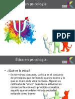 Etica en Psicologia
