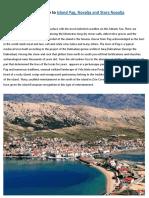 Ultimate Guide to Island Pag, Novalja and Stara Novalja
