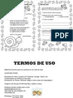 Atividade em PDF