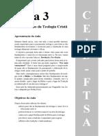 Aula03 - Fundamentos Da Teologia Cristã